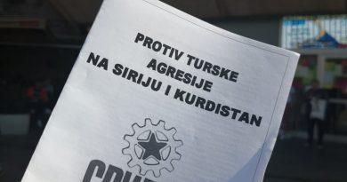 Акции на солидарност со Рожава во Србија, БиХ и Македонија