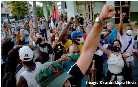 протести во Куба